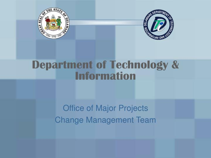Department of Technology & Information