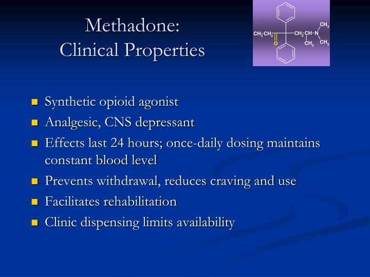 Methadone: