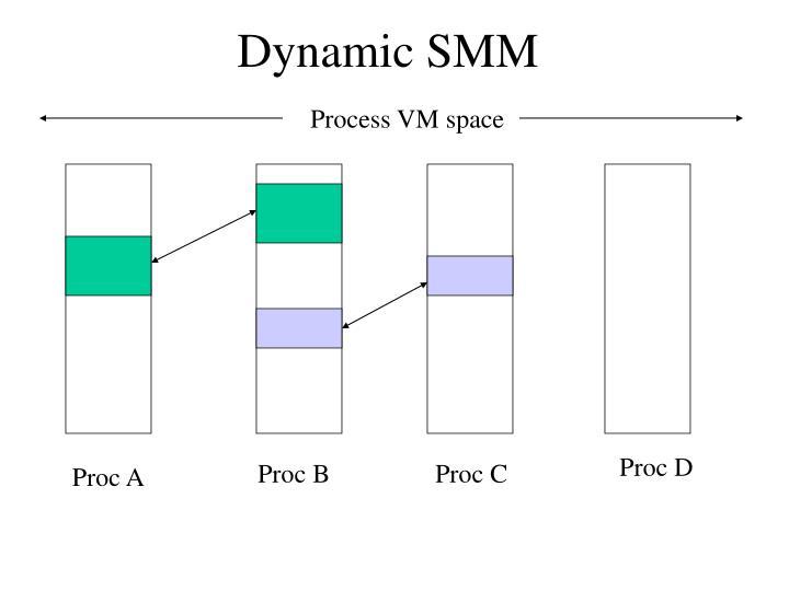 Dynamic SMM