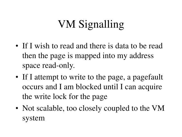VM Signalling