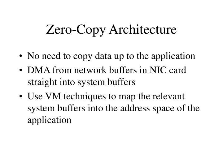 Zero-Copy Architecture