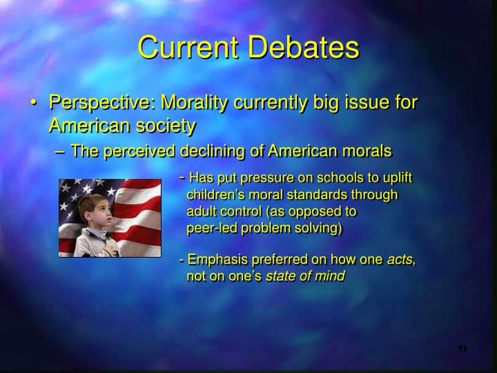 Current Debates