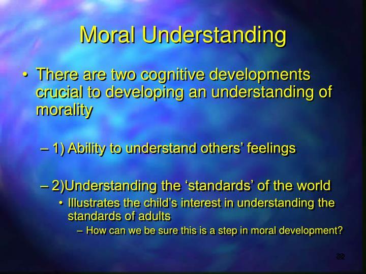 Moral Understanding