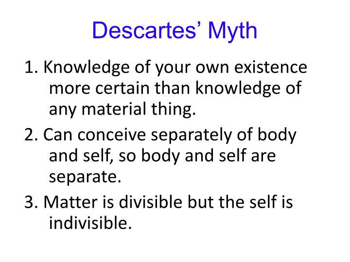 Descartes' Myth