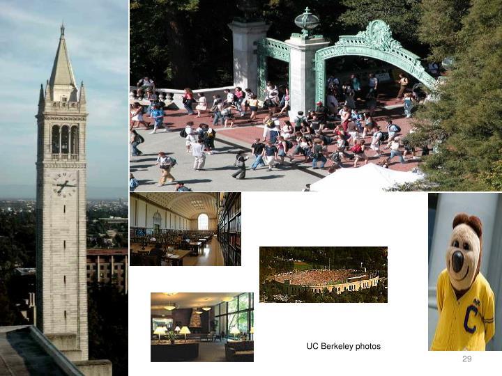 UC Berkeley photos