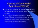 census of commercial agriculture 2002 2