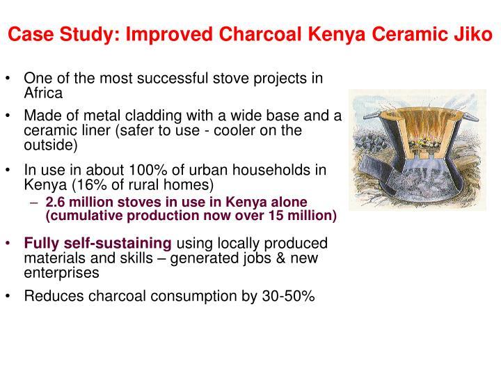 Case Study: Improved Charcoal Kenya Ceramic Jiko