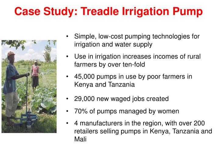 Case Study: Treadle Irrigation Pump
