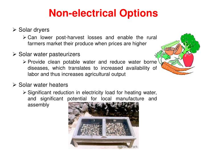 Non-electrical Options