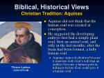 biblical historical views christian tradition aquinas2