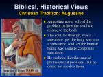 biblical historical views christian tradition augustine2