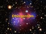 emergentism