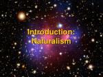 introduction naturalism