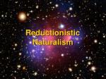reductionistic naturalism