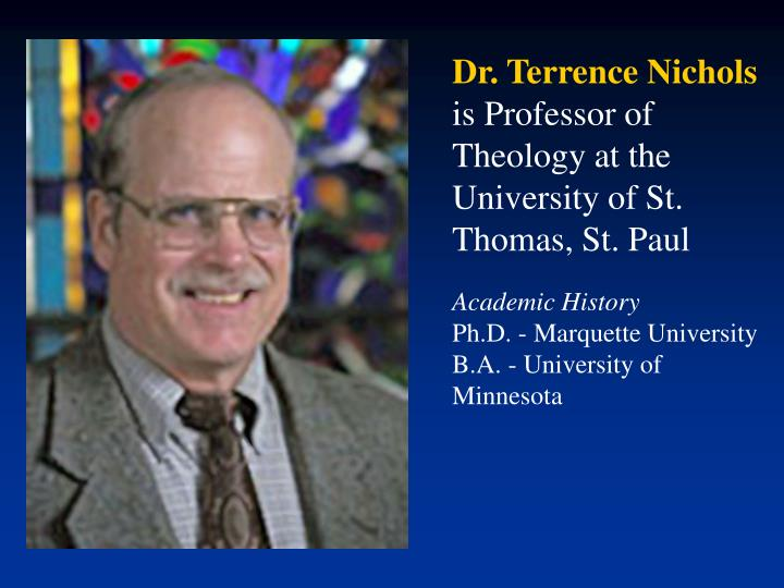 Dr. Terrence Nichols