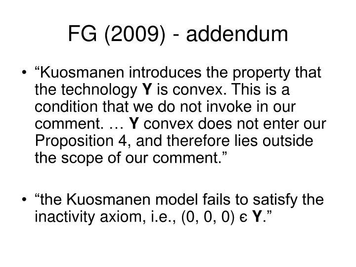 FG (2009) - addendum