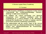 5 measures against money laundering 5 3 germany