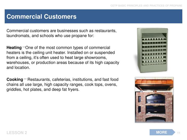 Commercial Customers