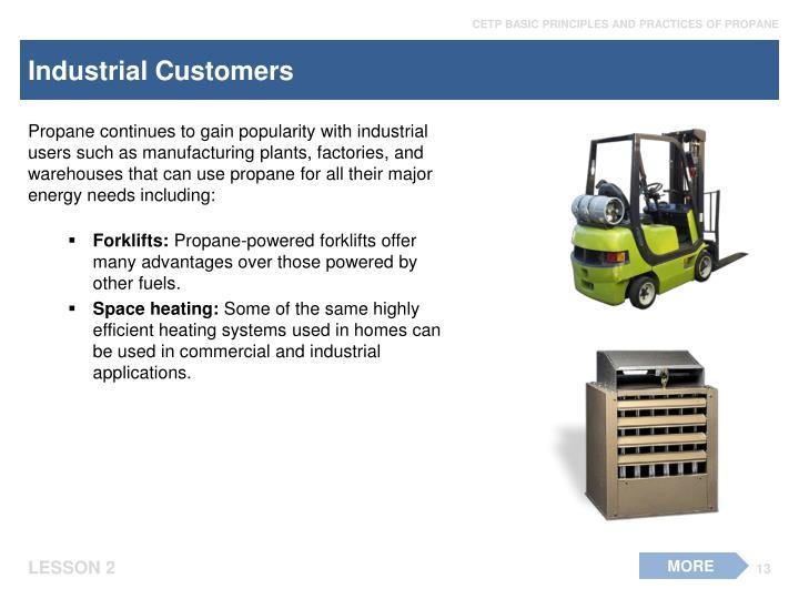 Industrial Customers
