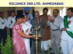 reliance ind ltd ahmedabad