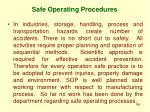 safe operating procedures1