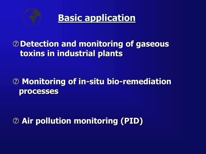 Detection and monitoring of gaseous toxins in industrial plants