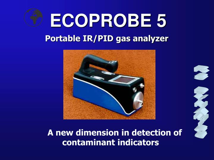 Portable IR/PID gas analyzer