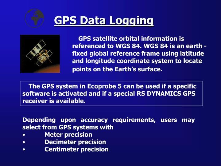 GPS Data Logging