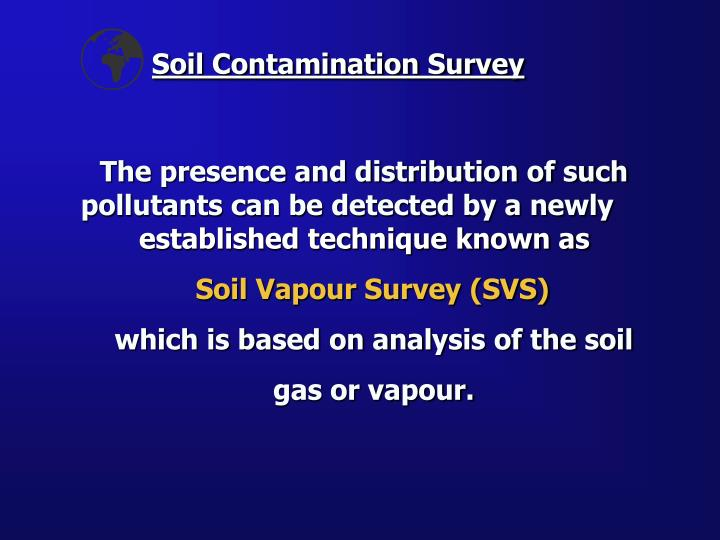 Soil contamination survey1