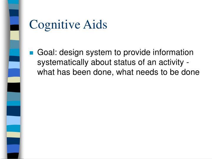 Cognitive Aids