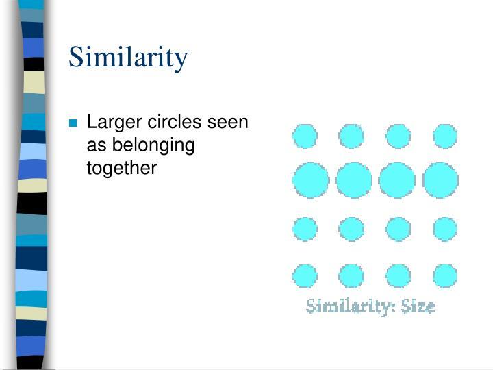 Similarity