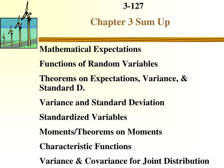 Mathematical Expectations