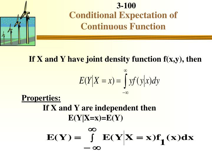 Conditional Expectation of