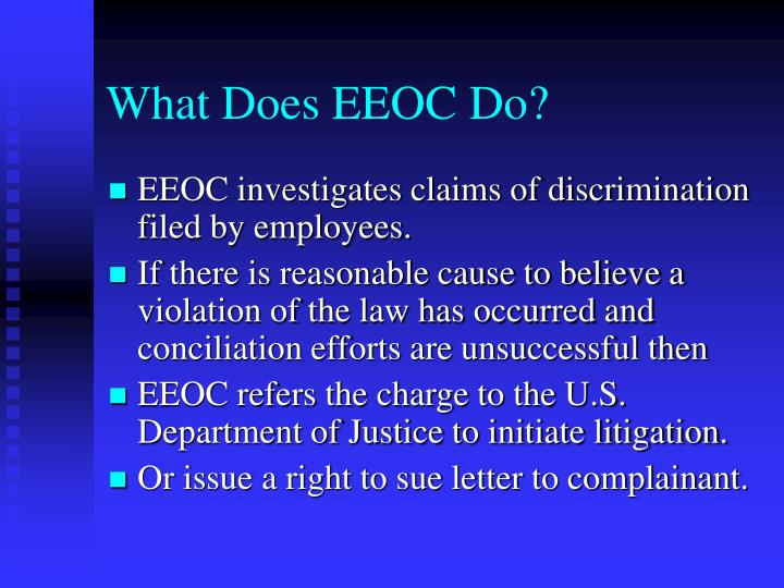 What Does EEOC Do?