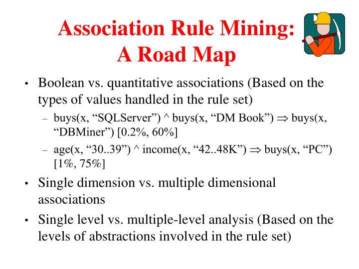 Association Rule Mining: