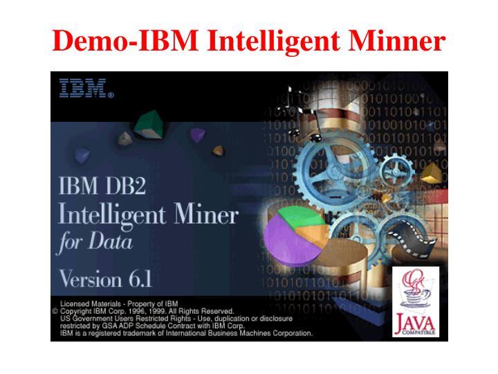 Demo-IBM Intelligent Minner