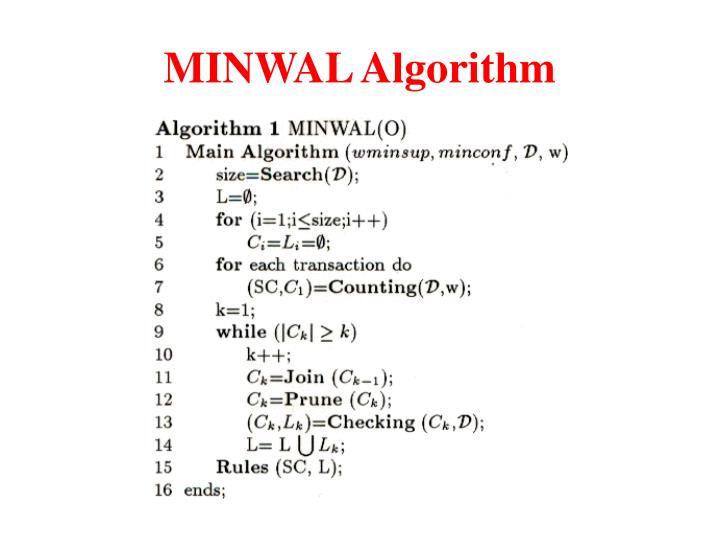 MINWAL Algorithm
