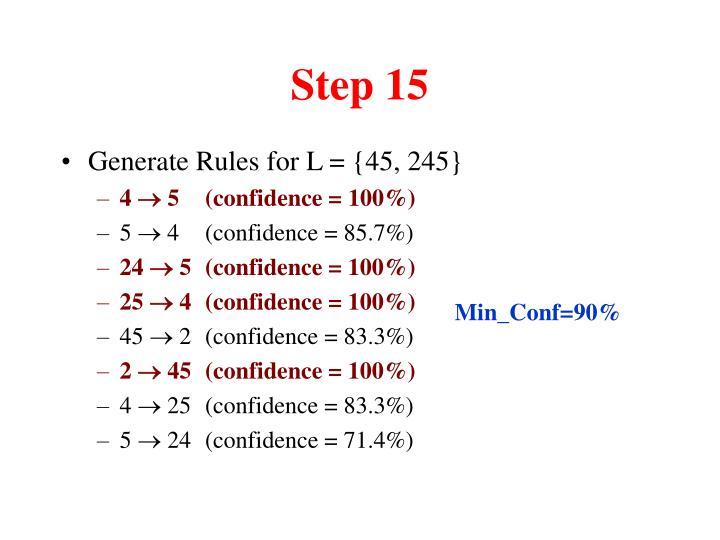 Step 15