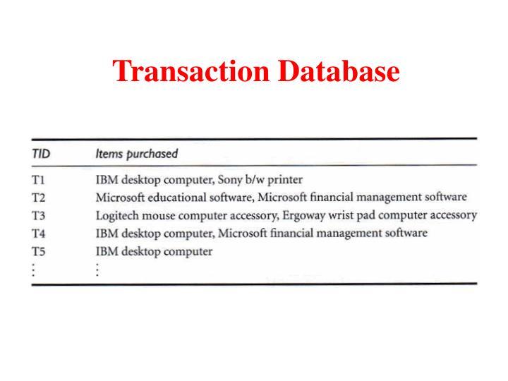 Transaction Database