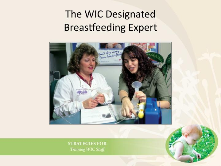 The WIC Designated