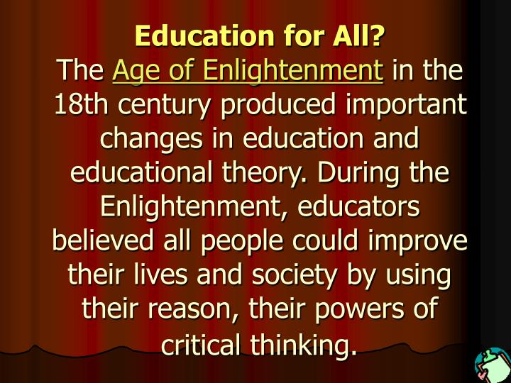 Education for All?