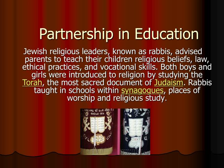 Partnership in Education
