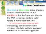 drop certification1