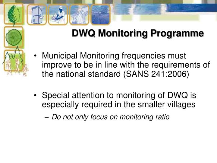 DWQ Monitoring Programme