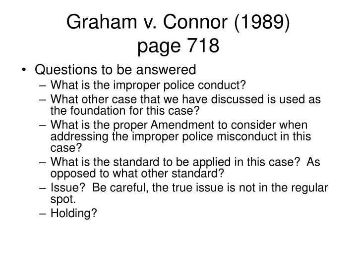 Graham v. Connor (1989)
