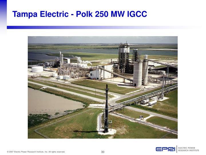 Tampa Electric - Polk 250 MW IGCC