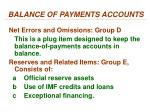 balance of payments accounts3
