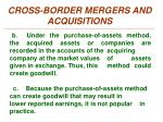 cross border mergers and acquisitions4