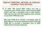 fasb 8 temporal method vs fasb 52 current rate method2