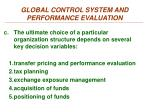 global control system and performance evaluation3